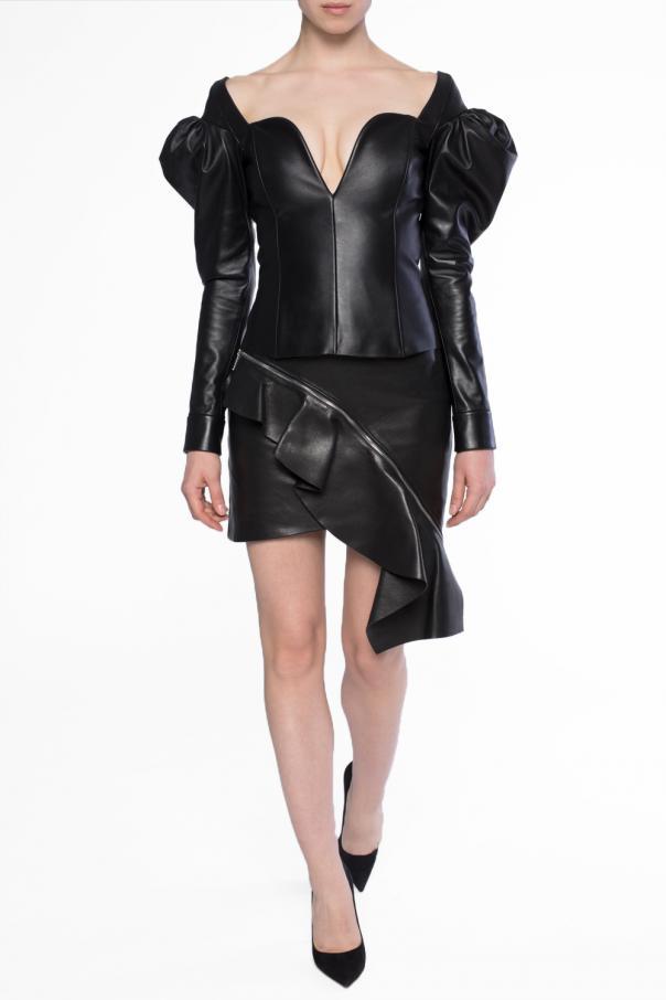 64979fc45f Leather skirt Saint Laurent - Vitkac shop online