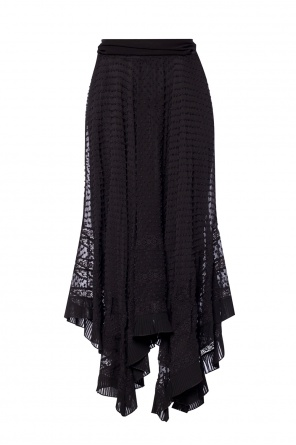 Skirt with a lace embellishment od Zimmermann