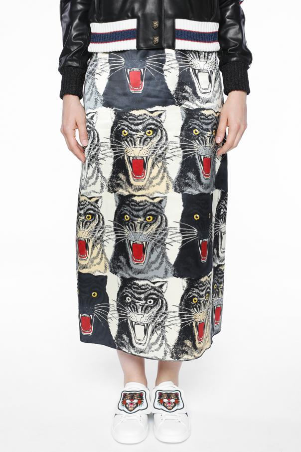 Printed skirt od Gucci