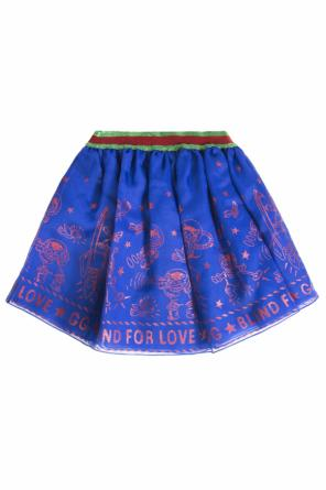 Flared skirt od Gucci Kids