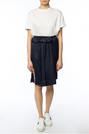 Asymmetrical striped skirt od Stella McCartney