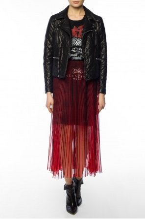 Two-layered skirt od Balenciaga