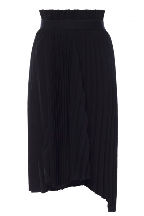 Asymmetrical pleated skirt od Balenciaga