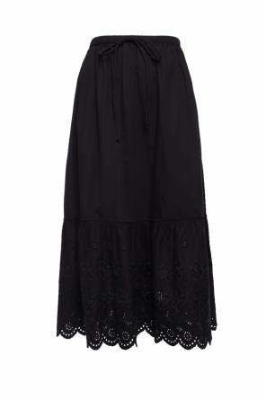 Embroidered flared skirt od McQ Alexander McQueen