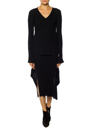 Cut-out ribbed skirt od Stella McCartney