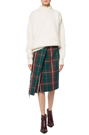 Checked skirt od Balenciaga