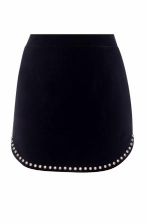 Asymmetrical skirt with pockets od Saint Laurent