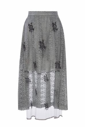 Lace skirt with a sequin embellishment od Stella McCartney