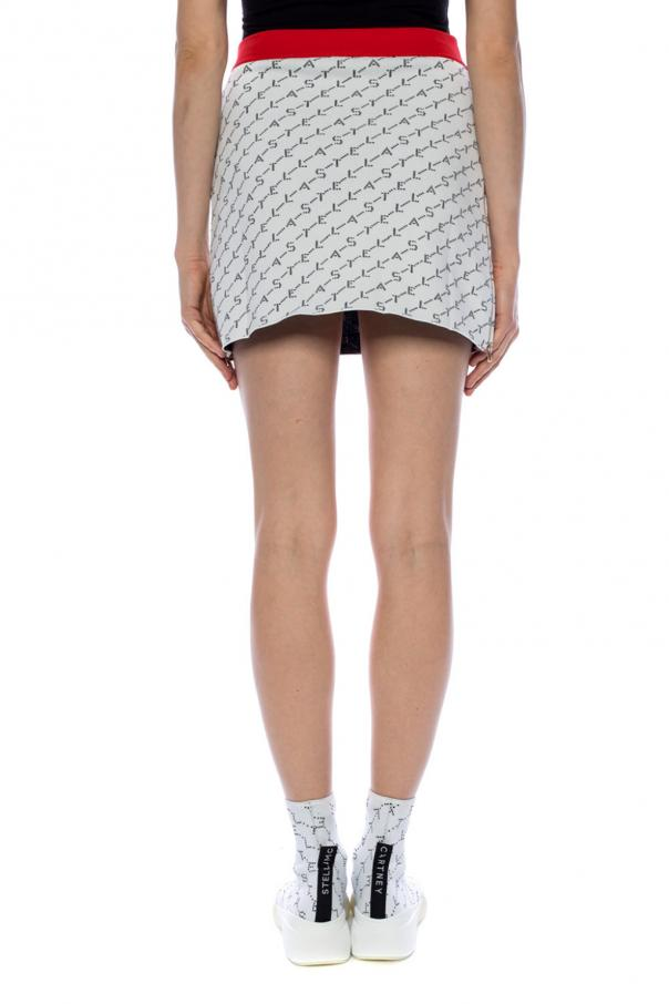 Logo-embroidered skirt od Stella McCartney