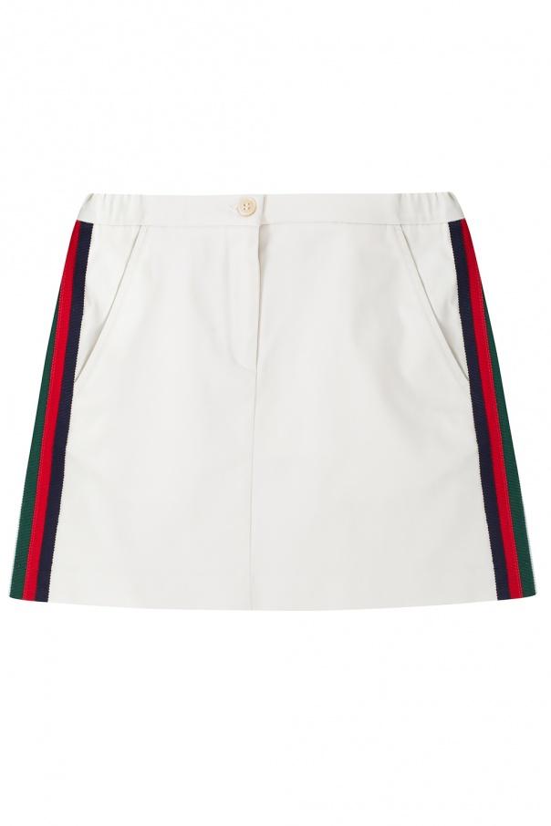 Gucci Kids 'Sylvie Web' skirt
