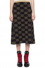 Gucci Logo-embroidered skirt