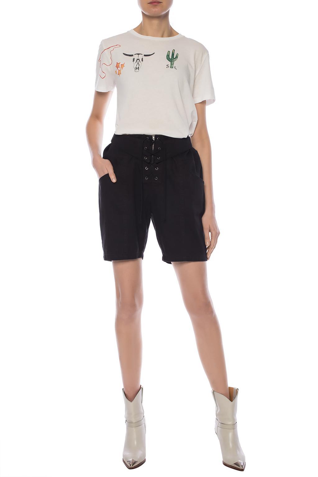 Saint Laurent Drawstring shorts