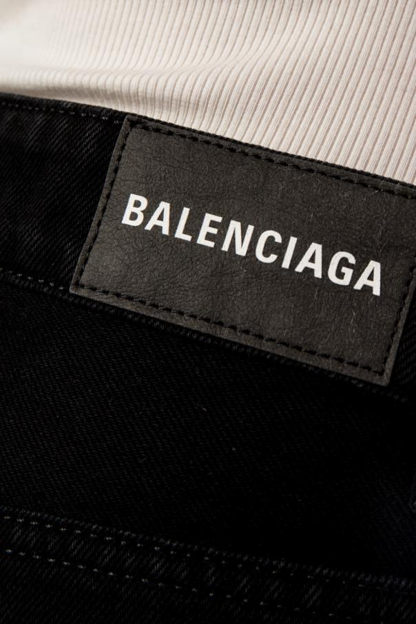 Denim skirt od Balenciaga