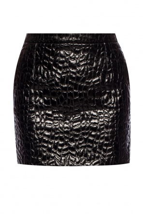 Textured skirt od Saint Laurent