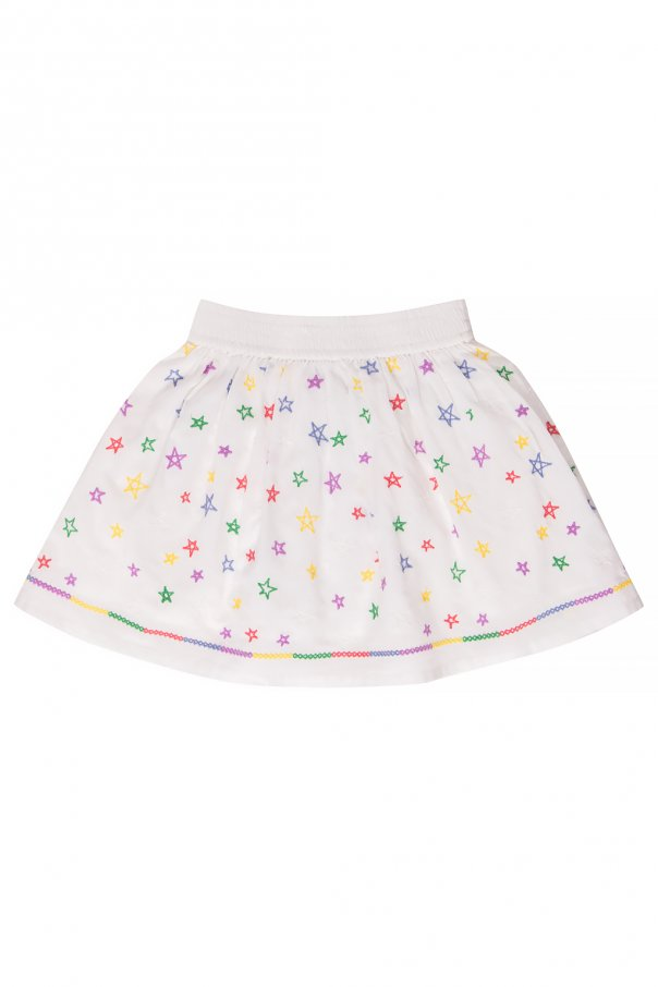 Stella McCartney Kids Embroidered skirt