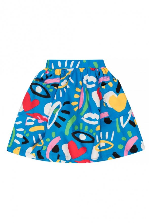 Stella McCartney Kids Printed skirt