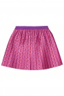 Gucci Kids Pleated skirt with logo