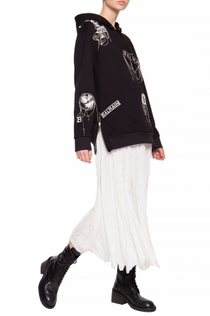 Pleated skirt with logo od Emporio Armani