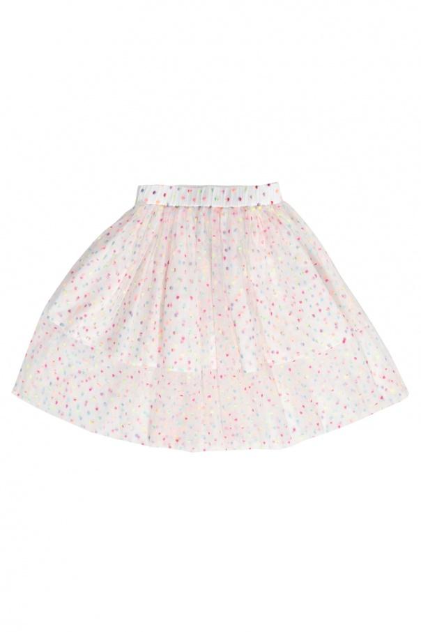 Stella McCartney Kids Tulle skirt with dots