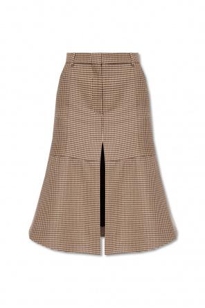 Houndstooth-pattern skirt od Stella McCartney