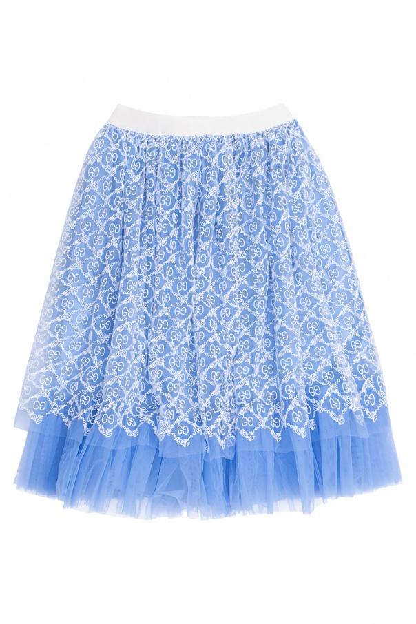 Gucci Kids Logo skirt