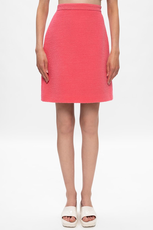 Gucci Tweed skirt