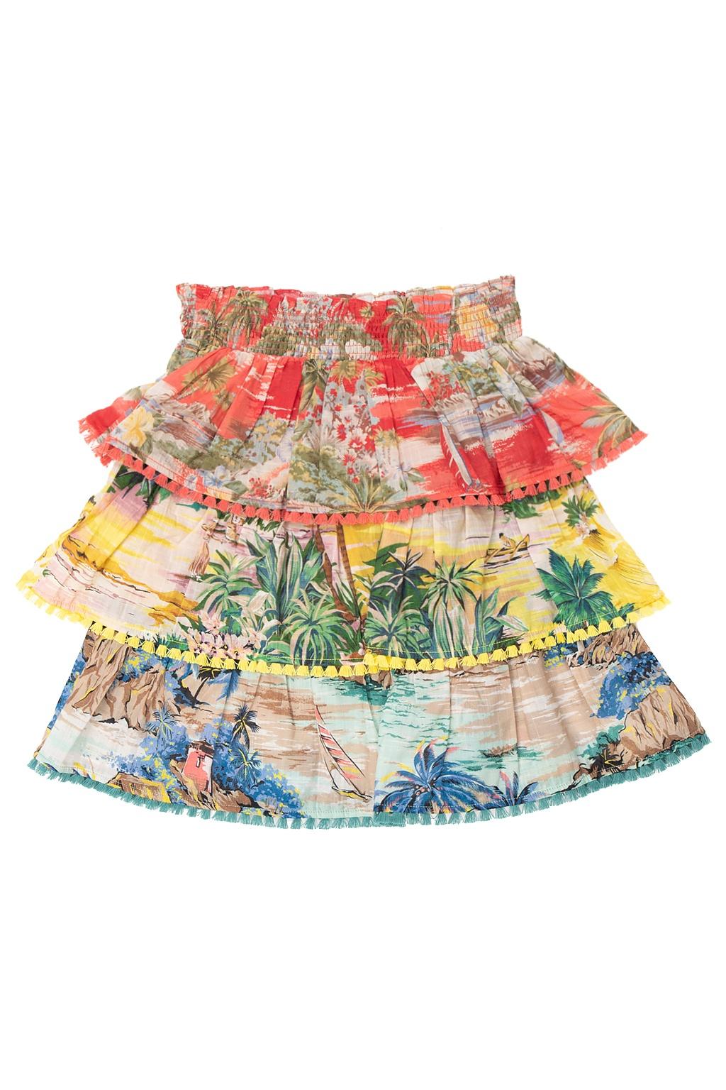 Zimmermann Kids Patterned skirt