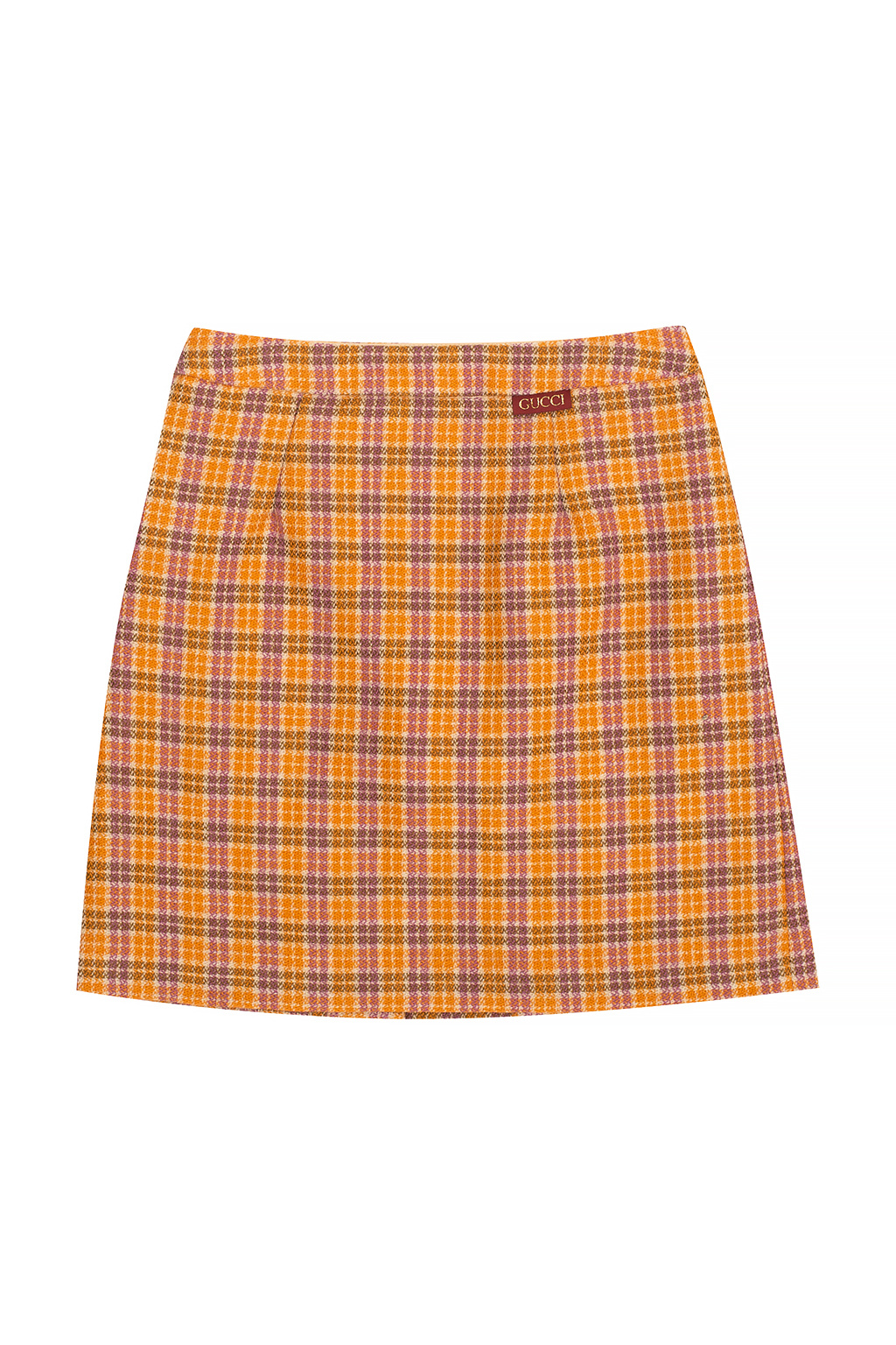 Gucci Kids Checked trousers