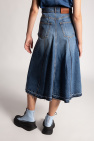 Alexander McQueen Denim skirt