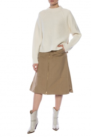 Skirt with pockets od Burberry