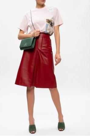 Leather skirt od Burberry