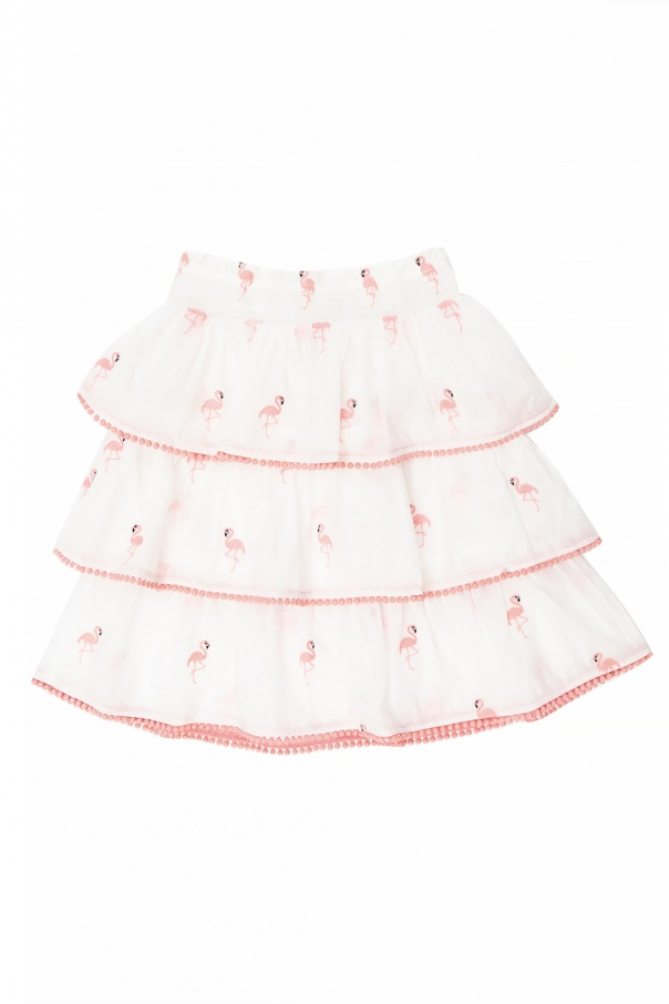 Zimmermann Kids Embroidered skirt