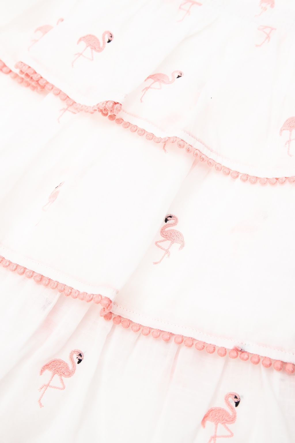 Zimmermann Kids Embroidered skirt