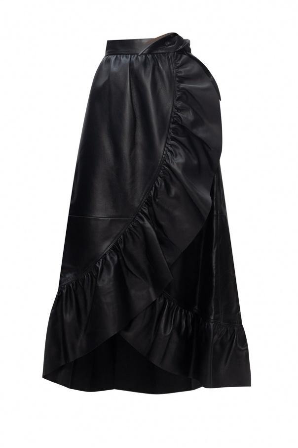 Zimmermann Leather skirt