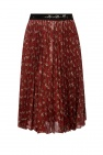 Coach Printed pleated skirt