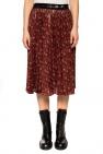 Coach Printed pleated skirt