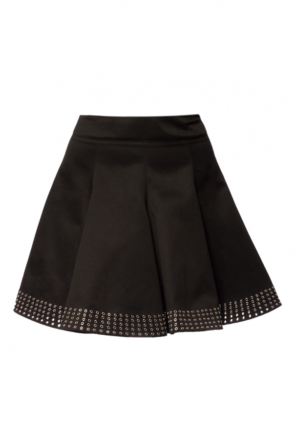 Alaia Perforated skirt