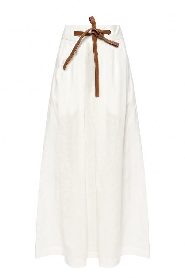 Zimmermann Linen skirt