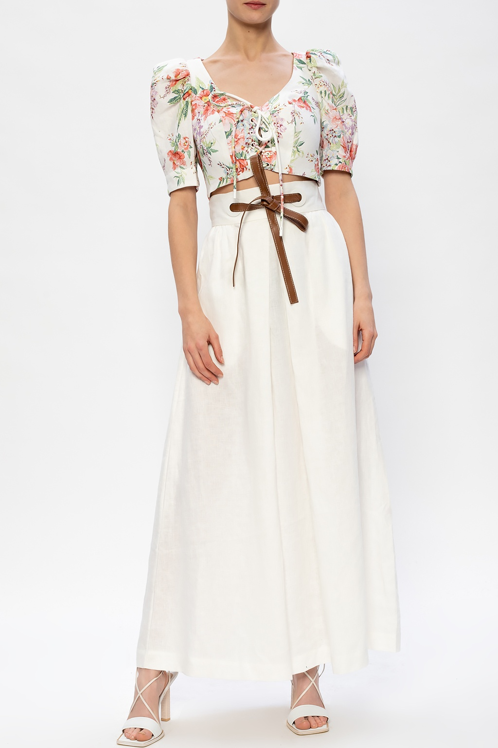 Zimmermann Linen skirt