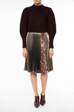 Patterned pleated skirt od Versace