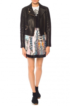 Printed pleated skirt od Versace