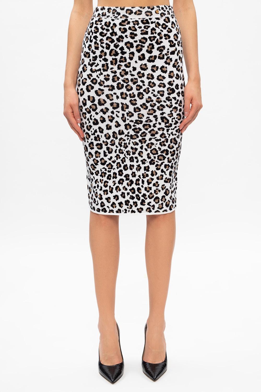Versace Skirt with animal motif