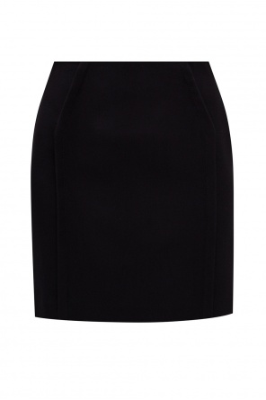 Skirt with stitching details od Versace