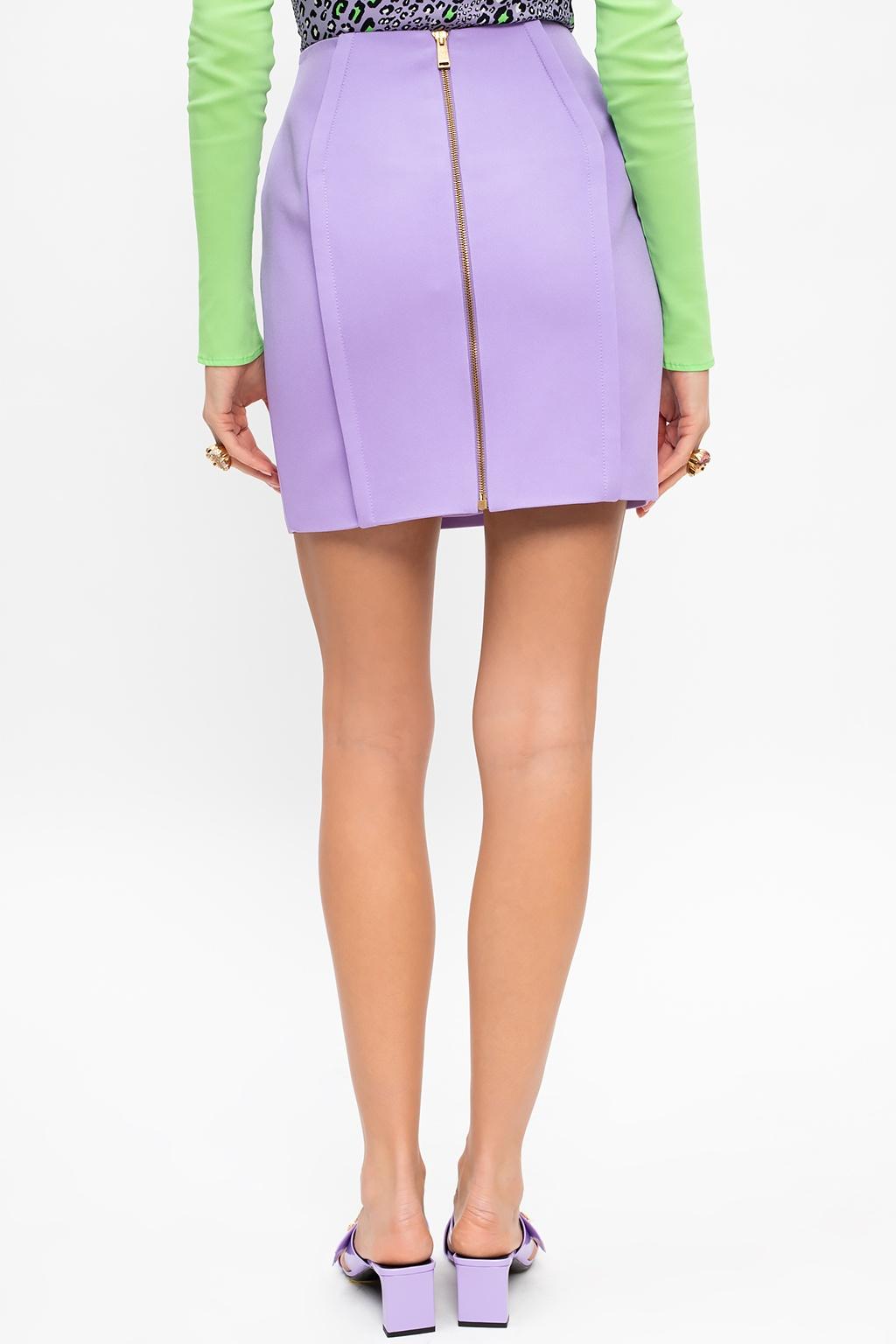 Versace Skirt with zip