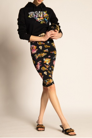 Printed pencil skirt od Versace Jeans Couture