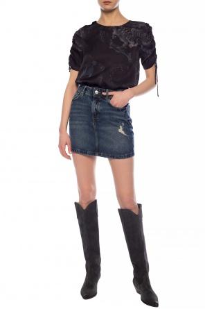 'arden' denim skirt od AllSaints