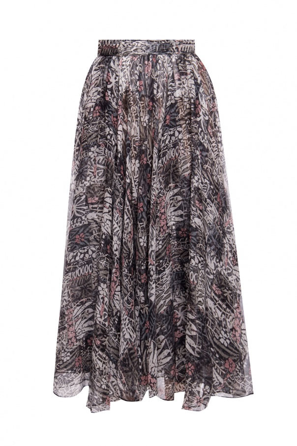 Alaia Patterned skirt