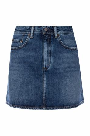 Stonewashed denim skirt od Acne