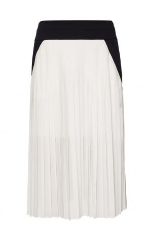 Pleated skirt with a cut-out od Givenchy
