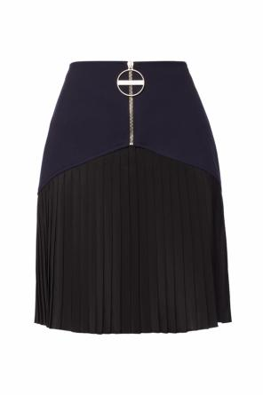 Pleated wool skirt od Givenchy